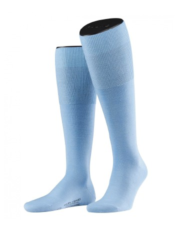 Falke Airport Men's Knee High Socks lightblue
