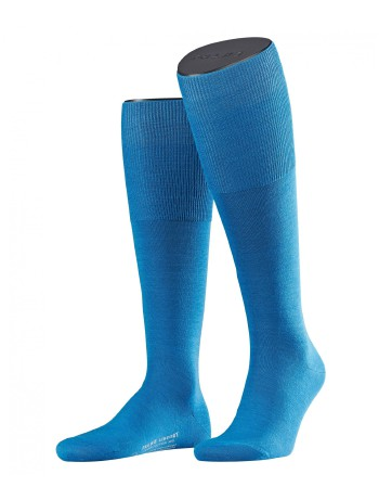 Falke Airport Men's Knee High Socks bluebay
