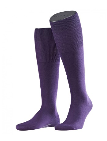 Falke Airport Men's Knee High Socks blueberry