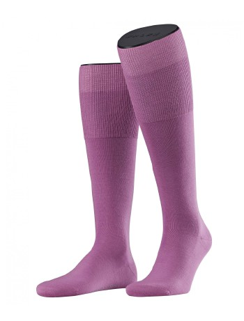 Falke Airport Men's Knee High Socks lilac