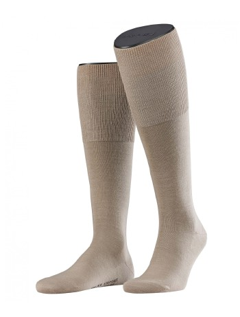 Falke Airport Men's Knee High Socks pale khaki