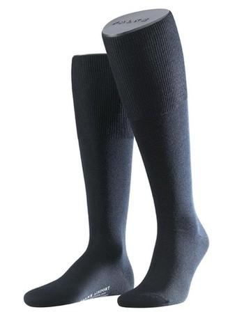 Falke Airport Men's Knee High Socks dark navy