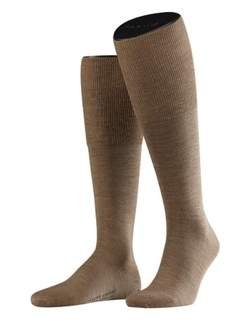 Falke Airport Men's Knee High Socks nutmeg mel.