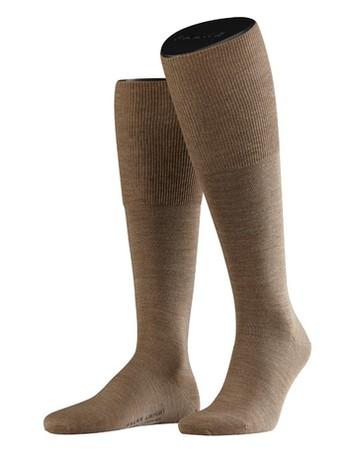Falke Airport Men's Knee High Socks nutmeg mel.