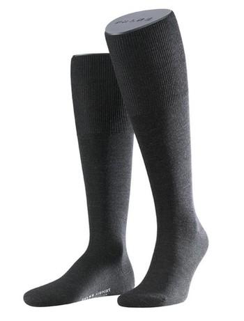 Falke Airport Men's Knee High Socks anthracite mel.