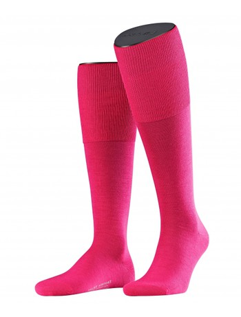 Falke Airport Men's Knee High Socks carmine