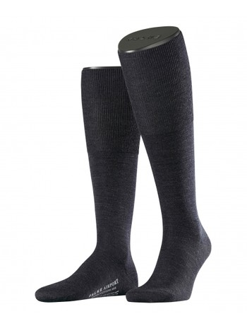 Falke Airport Men's Knee High Socks indigo mel