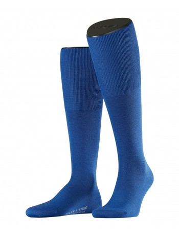 Falke Airport Men's Knee High Socks sapphire