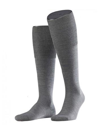 Falke Airport Men's Knee High Socks dark grey