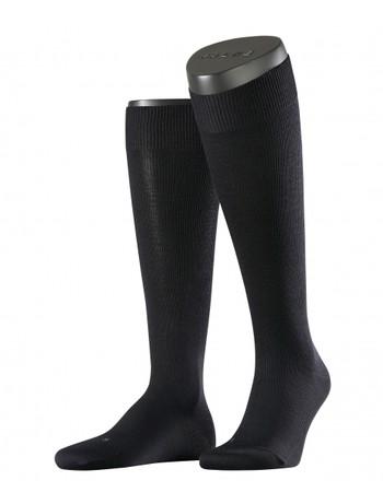 Falke Energizing Wool Mens Knee High Socks dark navy