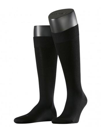 Falke Energizing Wool Mens Knee High Socks black
