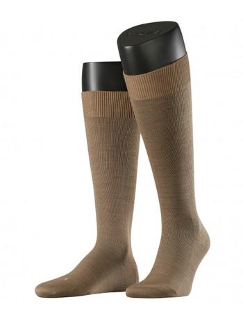 Falke Energizing Wool Mens Knee High Socks nutmeg mel.