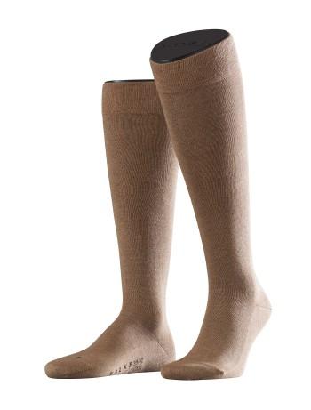 Falke Sensitive London Men's Knee High Socks nutmeg mel.