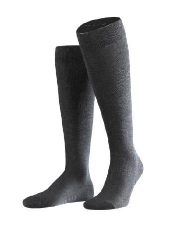 Falke Family Men's Knee High Socks anthracite mel.