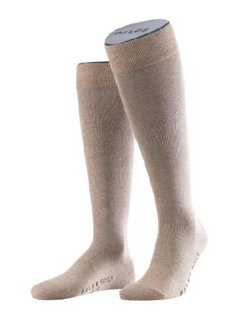 Falke Family Men's Knee High Socks nutmeg mel.