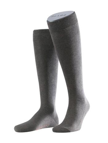 Falke Family Men's Knee High Socks dark brown