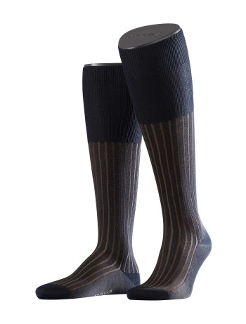 Falke Shadow Men's Knee High Socks dark navy