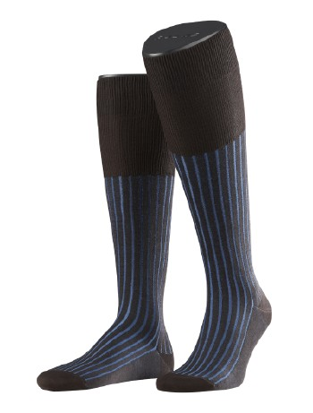 Falke Shadow Men's Knee High Socks brown-indigo