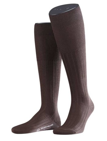 Falke Milano Men's Knee High Socks brown