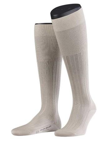 Falke Milano Men's Knee High Socks sand