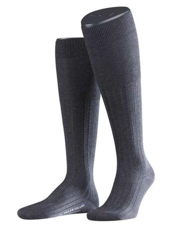 Falke Milano Men's Knee High Socks anthracite melange