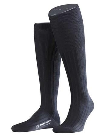 Falke Milano Men's Knee High Socks black