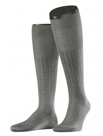Falke Milano Men's Knee High Socks light grey