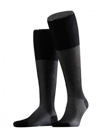 Falke Fine Shadow Men's Knee High Socks black