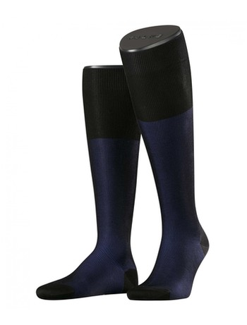 Falke Fine Shadow Men's Knee High Socks black/linnen