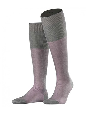 Falke Fine Shadow Men's Knee High Socks stein mel.