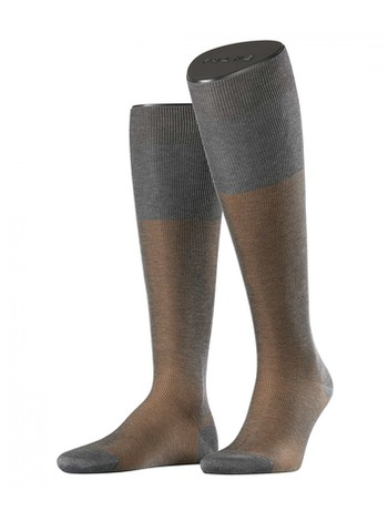Falke Fine Shadow Men's Knee High Socks grey melan
