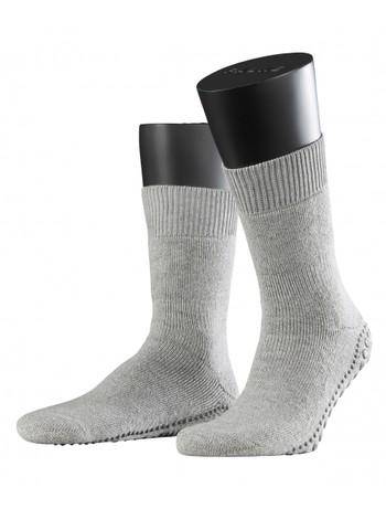Falke Non-Slip House Socks for Men light grey mel.