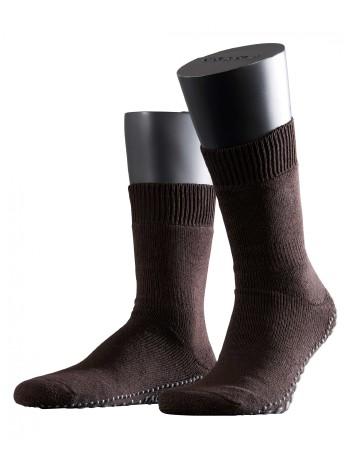 Falke Non-Slip House Socks for Men brown