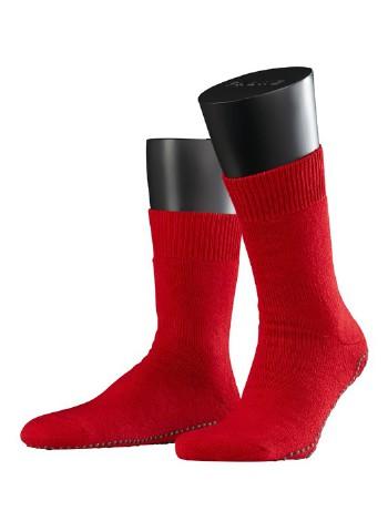 Falke Non-Slip House Socks for Men scarlet