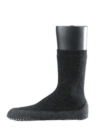 Falke Cosyshoe House Socks for Men anthracite mel.