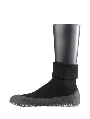 Falke Cosyshoe House Socks for Men black