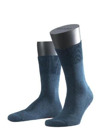 Falke Run Socks navyblue melange