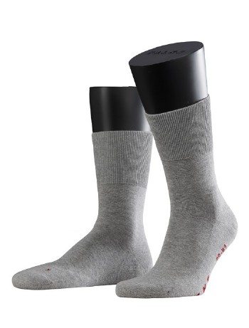 Falke Run Socks light grey mel.