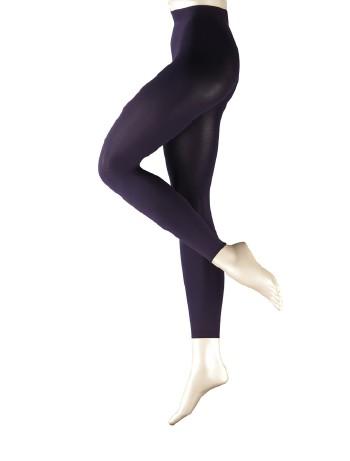 Falke Pure Matt 100 Leggings violet