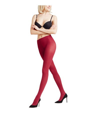 Falke Pure Matt 50 Tights ruby