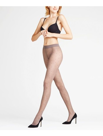 Falke Dot Tights platinum