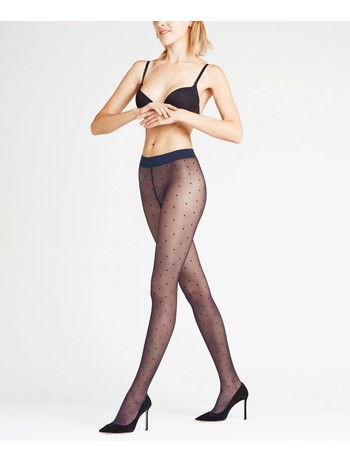 Falke Dot Tights marine