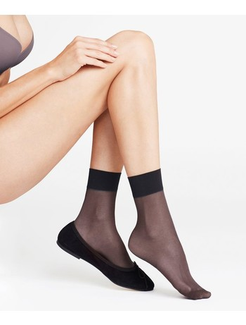 Falke Seidenglatt 15 Nylon Socks black