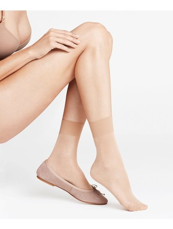 Falke Seidenglatt 15 Nylon Socks golden