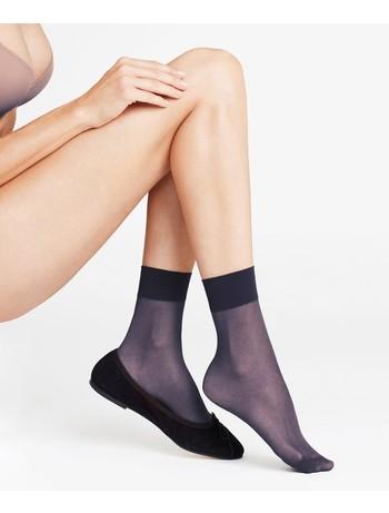 Falke Seidenglatt 15 Nylon Socks marine