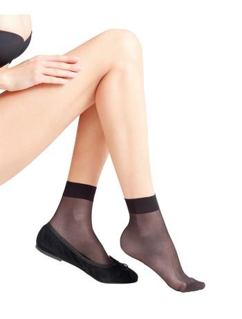 Falke Seidenglatt 15 socks black