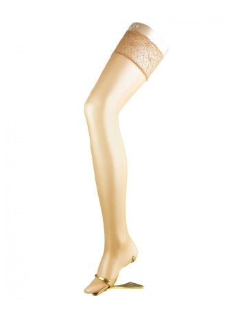 Falke Seidenglatt 15 Strap-On Stockings powder