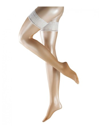 Falke Lunelle 8 Stockings powder/white