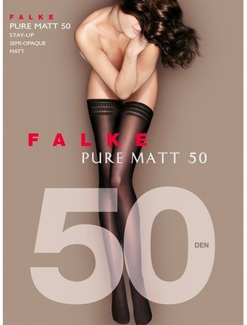 Falke Pure Matt 50 Hold-Ups Stockings