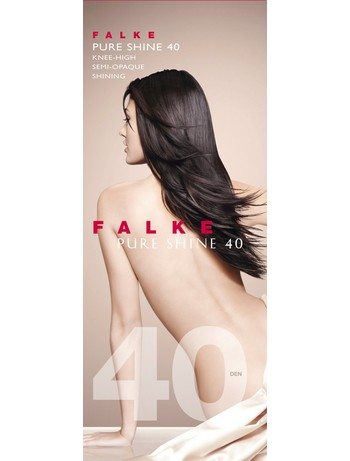 Falke Pure Shine 40 Ladies Knee-highs
